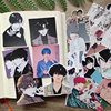 Idol illustration anime series stickers DIY scrapbooking base collage mobile computer diary happy planner decoration stickers