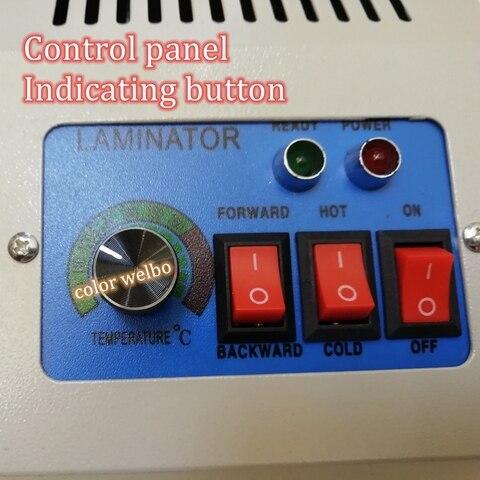 que cobre filme fresco quente que pressiona laminador