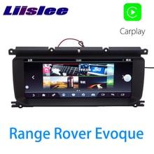 LiisLee coche Multimedia GPS de Audio de alta fidelidad Radio estéreo para Land Rover Range Rover Evoque 2011 ~ 2020 Original estilo de navegación NAVI