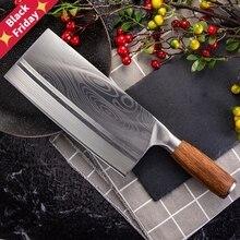 Китайский нож для нарезки ножей супер острое лезвие овощей, мяса, рыбы нож 4Cr14 высокая твердость кухня кухонные ножи топорик