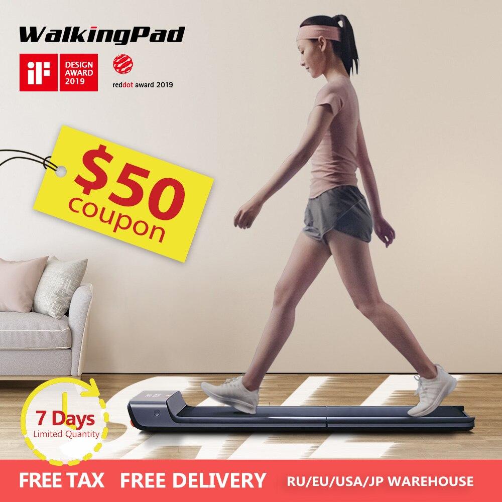 WalkingPad A1 Esteira Dobrável Elétrico Inteligente Jog Caminhada Rápida Máquina Para Casa Esporte Equipamento de Fitness Xiaomi Ecossistema Kingsmit