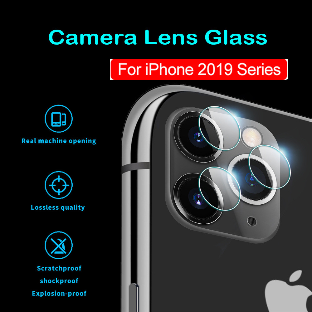 3Pcs Protective tempered glass for iphone 11 Pro max XS 6 6s 8 plus 6 7 XR glass On iphone 7 x screen protector Front+Back +Lens
