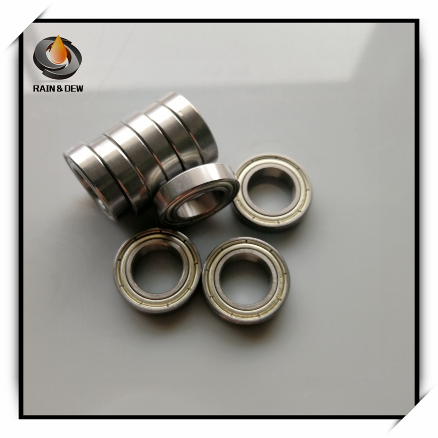 10Pcs 6802 <font><b>6802ZZ</b></font> 6802RS 6802-2Z 6802Z 6802-2RS High Quality ABEC-7 Deep Groove Ball Bearings 15 x 24 x 5mm image