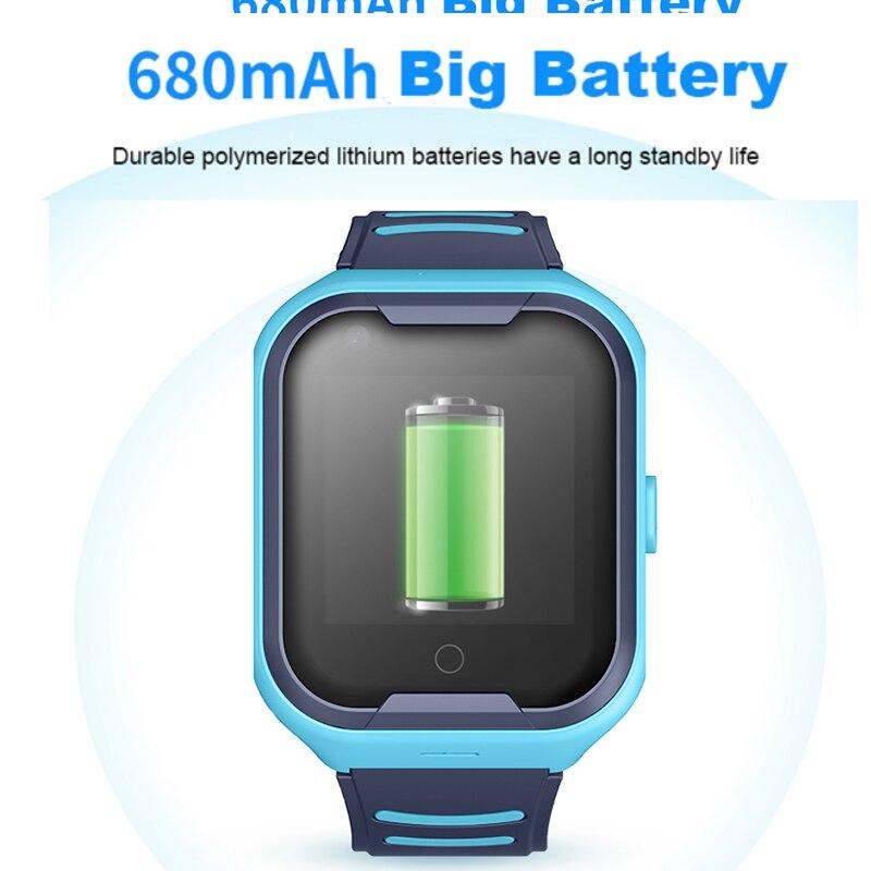 GPS montre SOS montre enfants téléphone montre Wifi étanche vidéo appel Smartwatch 1.4 pouces enfants horloge intelligente caméra bébé montre pk d8 - 2