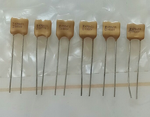 20PCS CDM Silver Mica 1000V470PF 5% P6MM mica capacitor 1000V 470P 1KV 471 470pF/1000V 1000V471 yellow