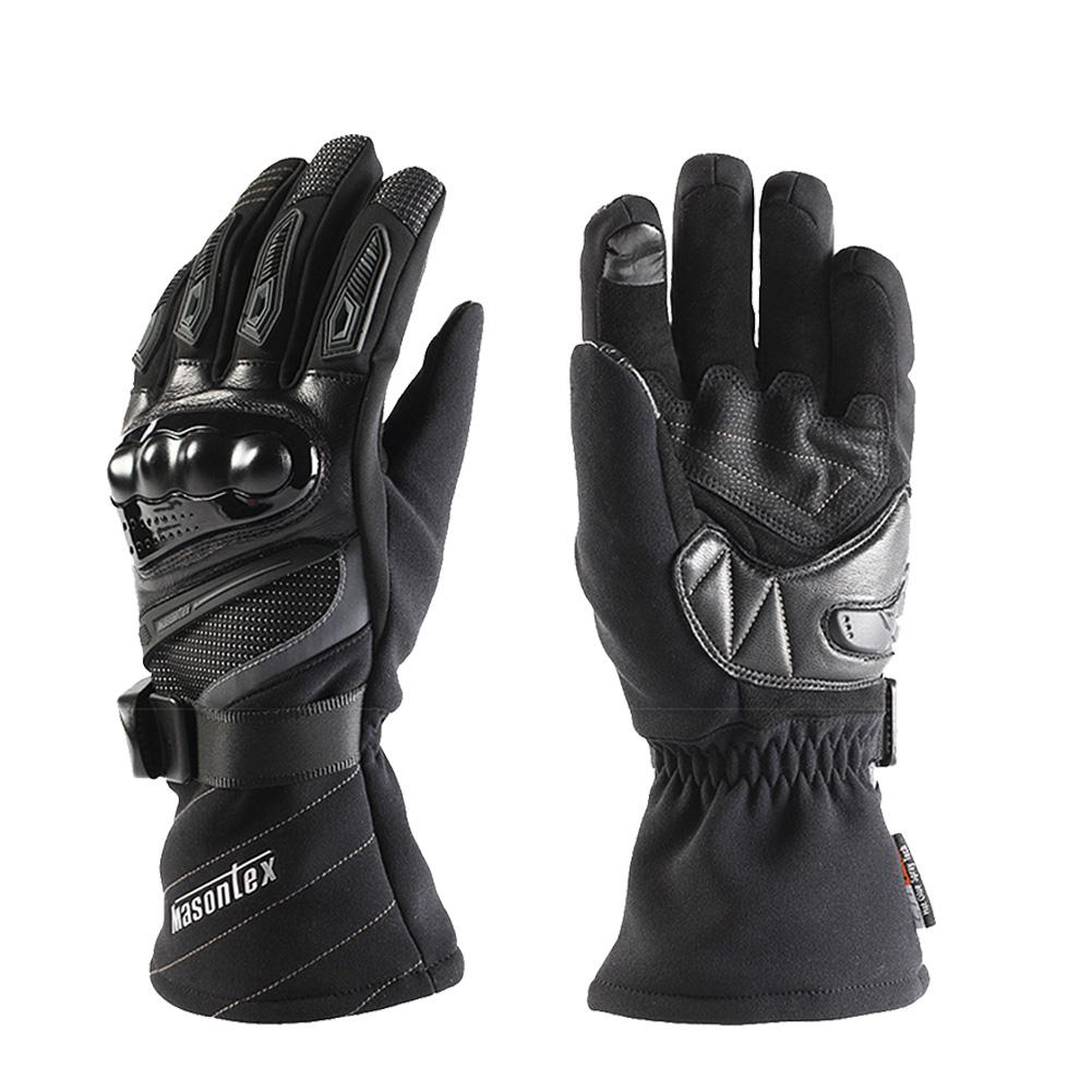 For Masontex Winter Motorcycle Riding Gloves Windproof Waterproof Knights Mobility