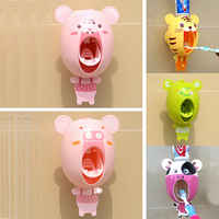 Portable Auto Automatic Toothpaste Dispenser Toothpaste Squeezers Device Easy Squeeze Hands Free Wall Mount Cute Gift Home Decor