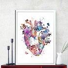 Human Heart Print Or...