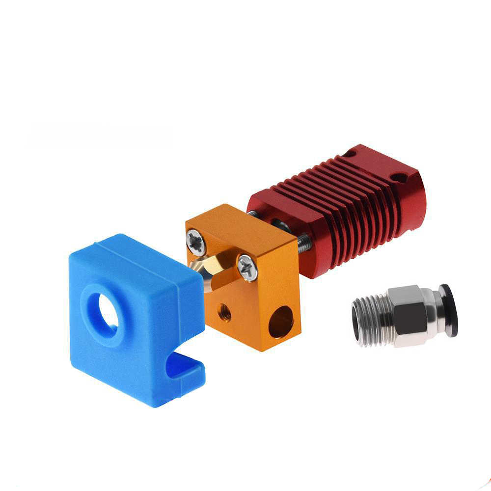 MK8 Gemonteerd Extruder Hot End Kit Voor Ender 3 CR10 Printer 1.75 Mm 0.4 Mm Nozzle Aluminium Verwarming Blok 3d printer Accessoires