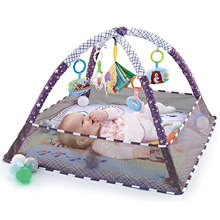 Mat Blanket Fence Puzzle Crawling-Game Fitness-Frame Multi-Function Girls Baby Enlightenment-Toys