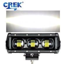 CREK 8 15 21 28 34 41 47 53 Zoll Flut lichtstrahl Offroad LED Work Licht Bar 4wd SUV ATV LED Bar Für Pickup 4WD 4x4 UTV Offroad Lkw