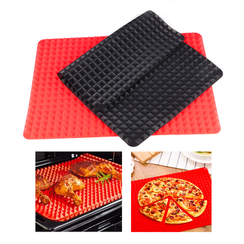 Non Stick Kitchen Accessories and Silicone Microwave Roasting Mat for Baking Pizza and Roasting Meat