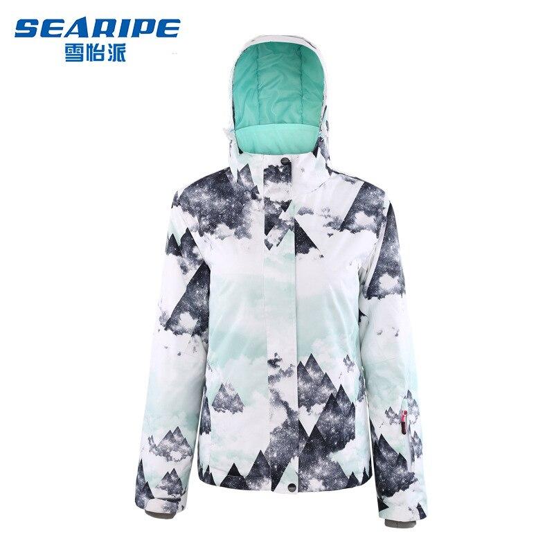 Double Board Snowboard Suit Women's Shirt Korea Waterproof Warm Outdoor Ski Clothing