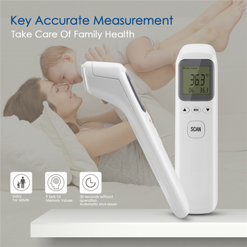 Infrared Digital LCD Baby Thermometer Body Measurement Forehead Ear Non-Contact Adult Body Fever IR Infrared Children Termometro