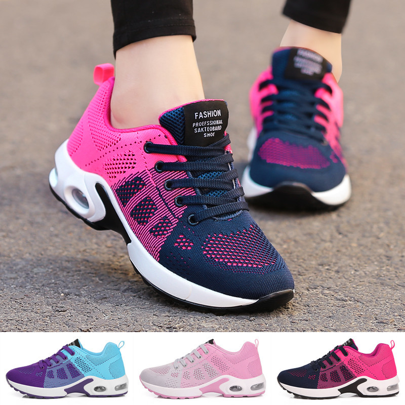 Women's Sneakers Comfortable Casual Shoes Breathable Sports Shoes Lightweight Running Shoes