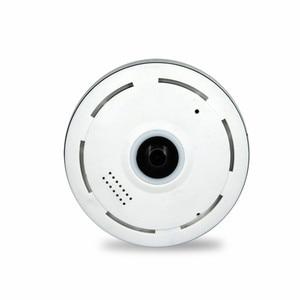 Image 5 - Панорамная IP камера 960P Full HD «рыбий глаз» с поворотом на 360 градусов, P2P, Двухсторонняя аудиосвязь, камера видеонаблюдения, поддержка TF карты, белая мини камера