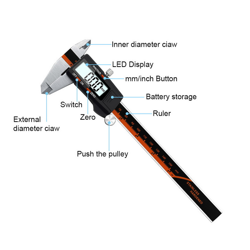 da ferramenta de medição do micrômetro do