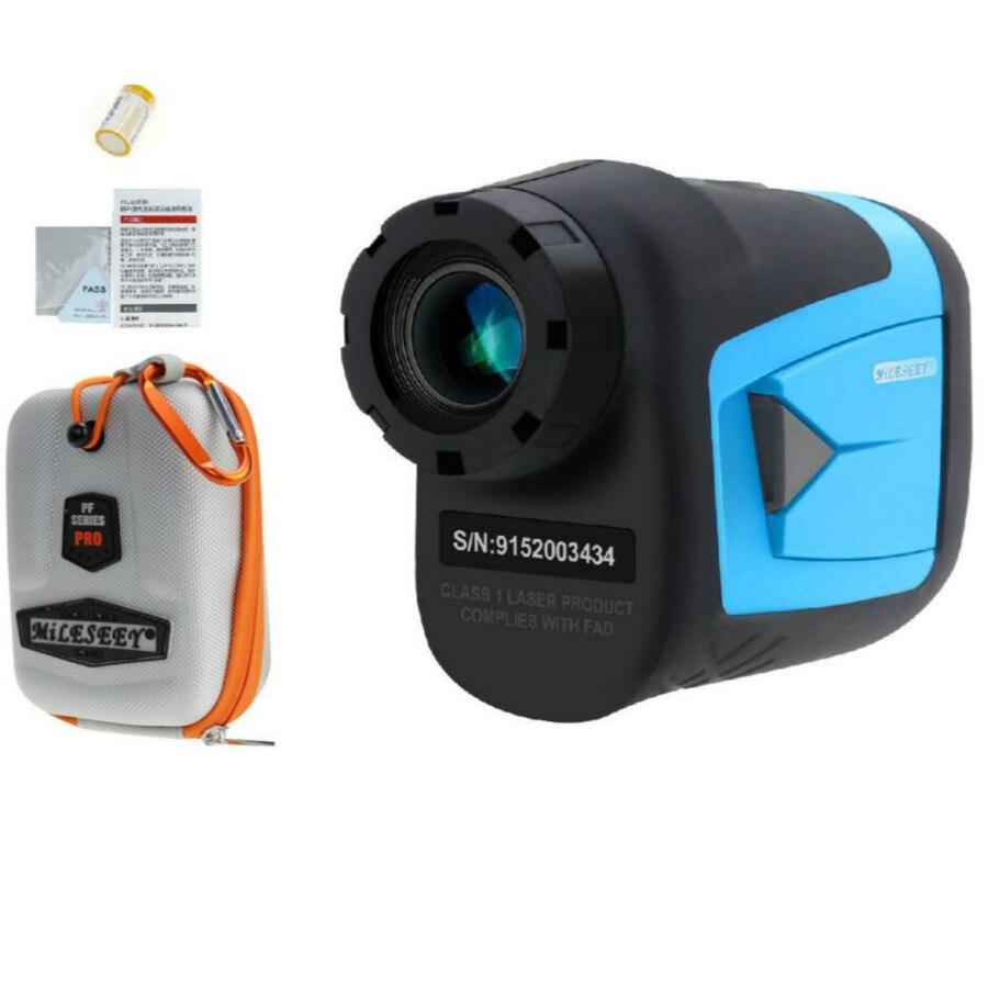 Mileseey PF210 600M télémètre Laser de Golf Mini Golf pente ajustée Mode Sport Laser Distance M