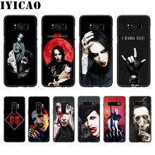 Marilyn Manson Soft Silicone Case for Samsung Galaxy S20 S10 S9 S8 Lite Plus Ult