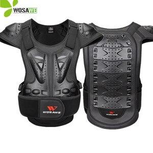 Image 1 - WOSAWE กีฬากลับ Protector แจ็คเก็ต Body ผ้าพันแผลรถจักรยานยนต์รถจักรยานยนต์ชุดป้องกันเกียร์ไหล่สกีป้องกัน