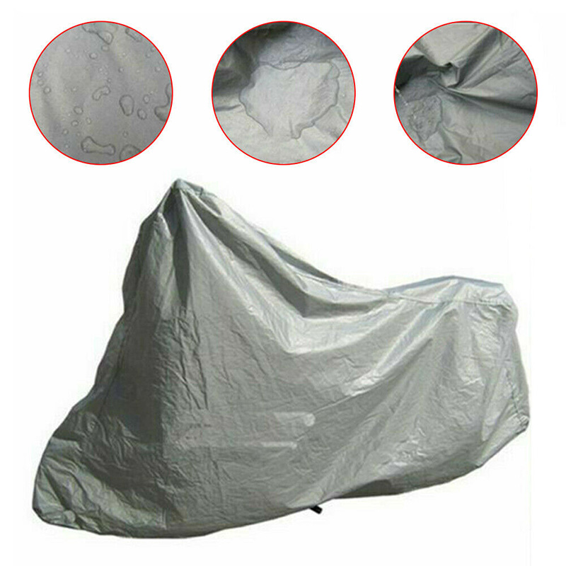 Full Motorcycle Covers Home Outdoor Anti-UV Motorbike Dust Proof Motor Bike Scooter Protection Covering Rain Cover X85