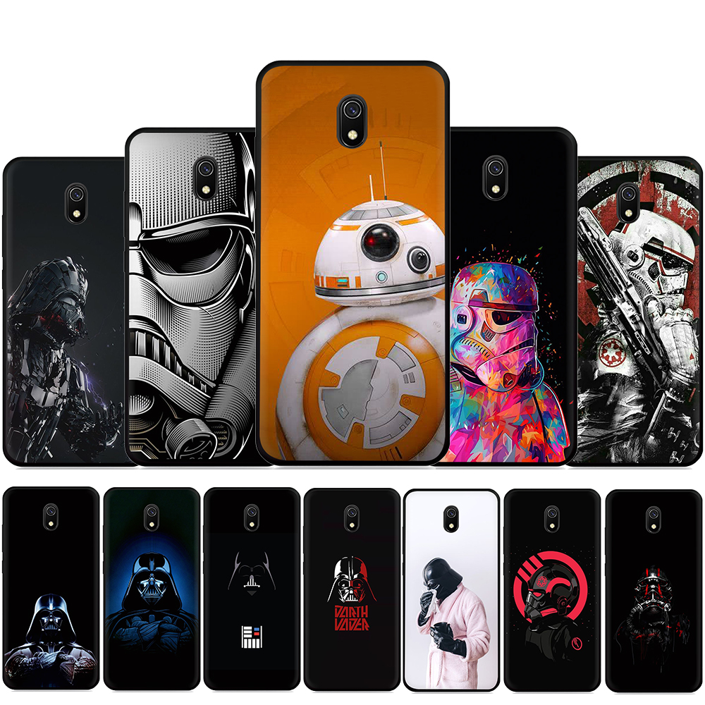 Star Wars 8 Movie Silicone Phone Case For Xiaomi Redmi 4A 4X 5 5A 5Plus 6 6A 7A 8A 6Pro 7 S2 GO K20 Pro K30 Poco X2