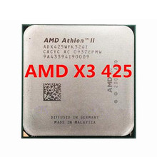 AMD Athlon II X3 425 CPU procesador Triple-Core \u00282,7 Ghz/ L2 = 2M /95W / 2000GHz\u0029 am3 am2 + envío gratis 938 pin vender X3 435