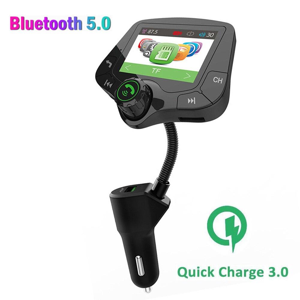 Konrisa Bluetooth 5.0 Transmissor FM Aux Input Output 2.0