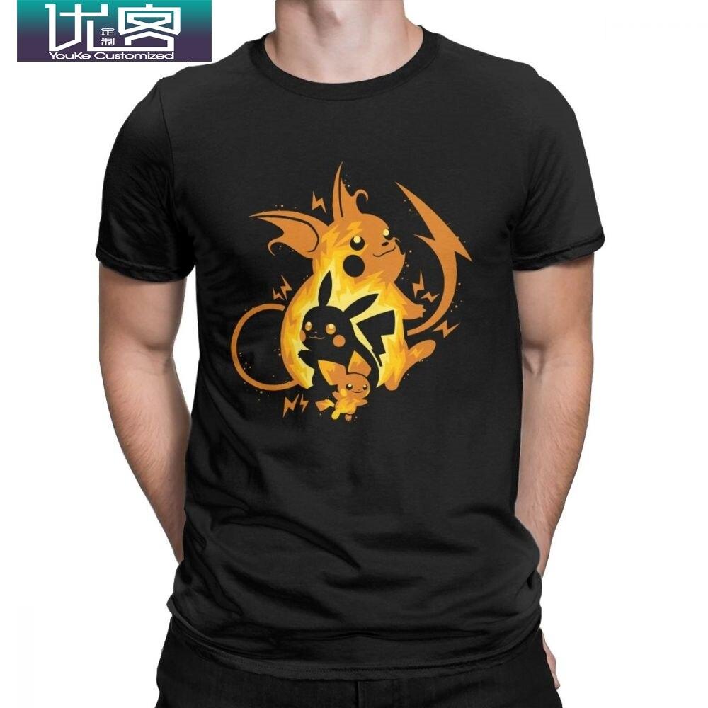 pikachu-font-b-pokemon-b-font-t-shirts-japan-anime-t-shirts-for-men-vintage-cotton-tees-crewneck-short-sleeve-plus-size-clothing