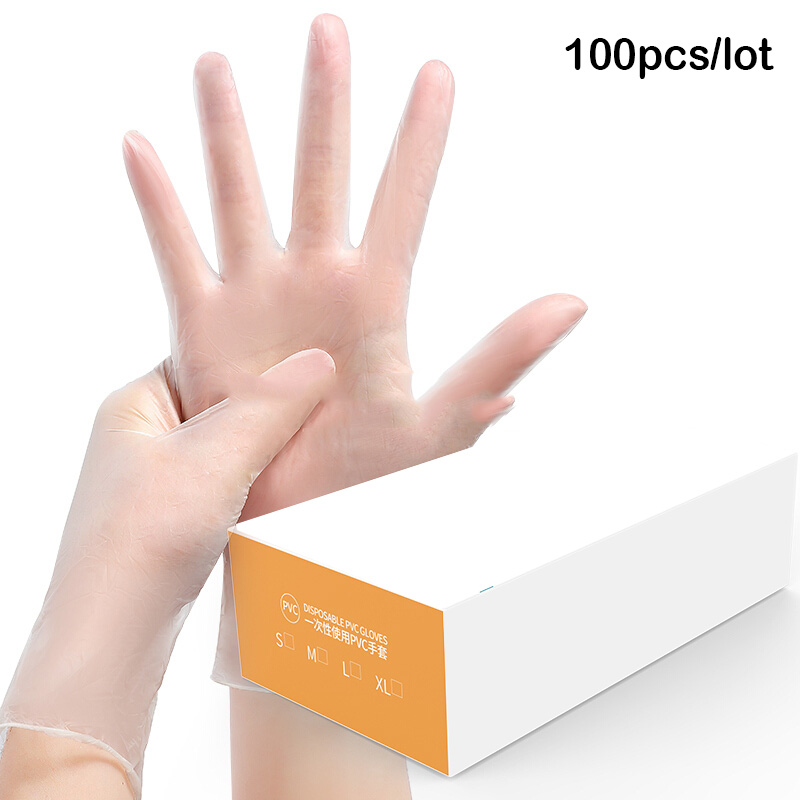 Disposable Nitrile Gloves Waterproof Exam Gloves Ambidextrous For Examination FDA Food Disposable Working Gloves
