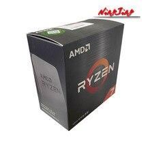 AMD Ryzen 7 5800X R7 5800X 3.8 GHz osiem Core 16 nici procesor CPU 7NM L3 = 32M 100 gniazdo 000000063 AM4 nowy, ale bez chłodnicy