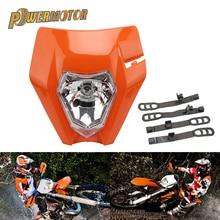 Motorrad Universal Scheinwerfer Lichter Scheinwerfer Für KTM EXC EXCF SXF XC XCW XCF XCFW 125 150 250 350 450 530 dirt Bike Supermoto