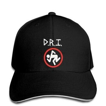 Sucio imbéciles D R que Gorra de béisbol Logotipo de banda Skanker para hombre Black1 gorra snapback