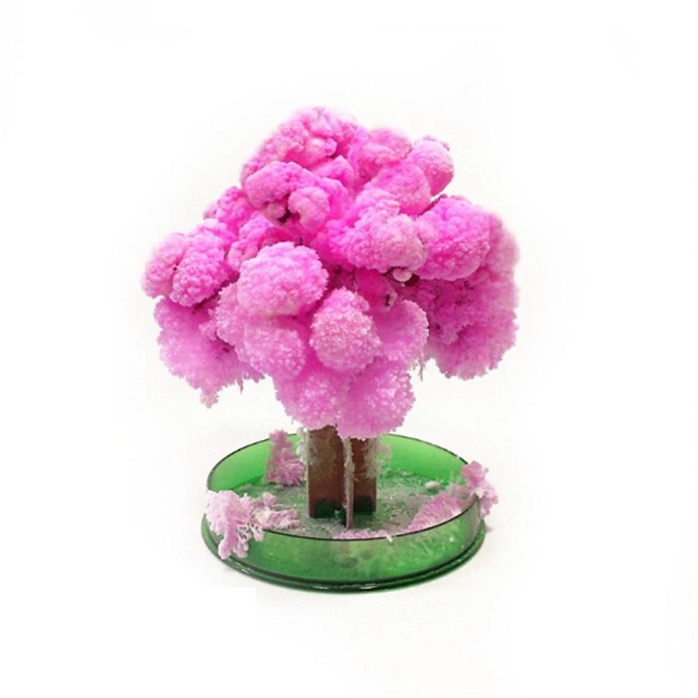 Magic Japanese Sakura Tree-Brand Pink Magically Decorative Growing Paper Trees New Made In Japan