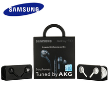 10 PCS Samsung AKG S10 S9 S8 Earphones EO IG955 3.5mm In-Ear Wired Mic Volume Control Headset With Retail Box