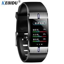 Смарт часы Kebidu с пульсометром, тонометром, прогнозом погоды, спортивный фитнес браслет для Android и IOS