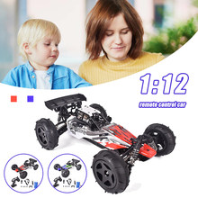 Rc Car 1:12 4WD Update Version 2.4G Radio Remote Control Car Toy Car 2021 High Speed Buggy Truck Off-road Truck Children's Toys