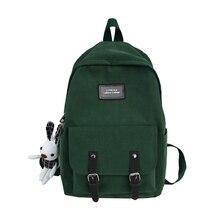 Black Oxford Women Backpack Girls School Bags for Teenage Back Pack Teen Bookbags Female Bagpack Student Preppy Backbag  New