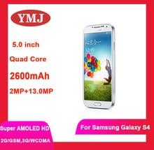 (Nuevo 90%) teléfono celular Samsung Galaxy S4 i9500 i9505 Original desbloqueado android Wifi GPS 5,0