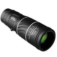Portable 16 X 52 High Over Binoculars Telescope Monocular 66/8000M Plastic Binoculars Outdoor Black Outdoor Sports Telescope oodji 4b212004m 34390n 8000m