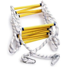 6.5Inch Flexible Ladder Rope Ladder Insulated Ladder Rescue Ladder Rock Climbing Anti-Skid Engineering Rope Ladder