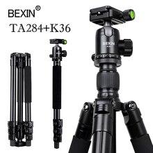 BEXIN Professional алюминиевый штатив портативный путешествия компактная система горизонтальный штатив с шаровой головкой для Canon SLR DSLR камер