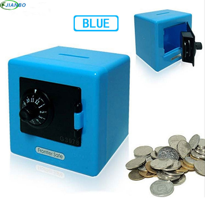 NEW Candy Colors Coin Safe Box Money Piggy Bank Security Electronic Key Password Chewing Cash Box Deposit Machine Gifts For Kids