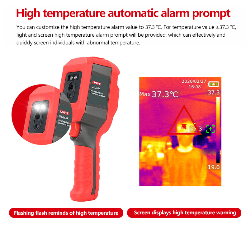 Mini Infrared Thermal Imaging Camera With Type-C USB Interface for Lithium Battery Charging 13