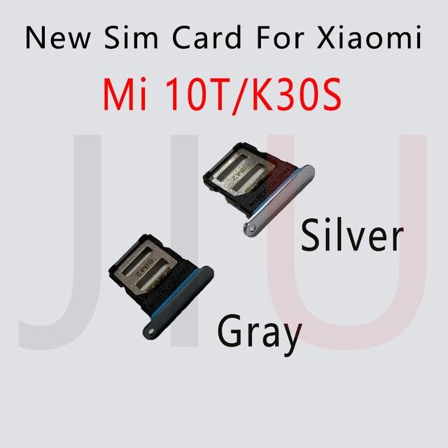 جديد ل شاومي Mi 10T / 10T برو 5 جرام سيم بطاقة صينية فتحة حامل محول المقبس إصلاح أجزاء