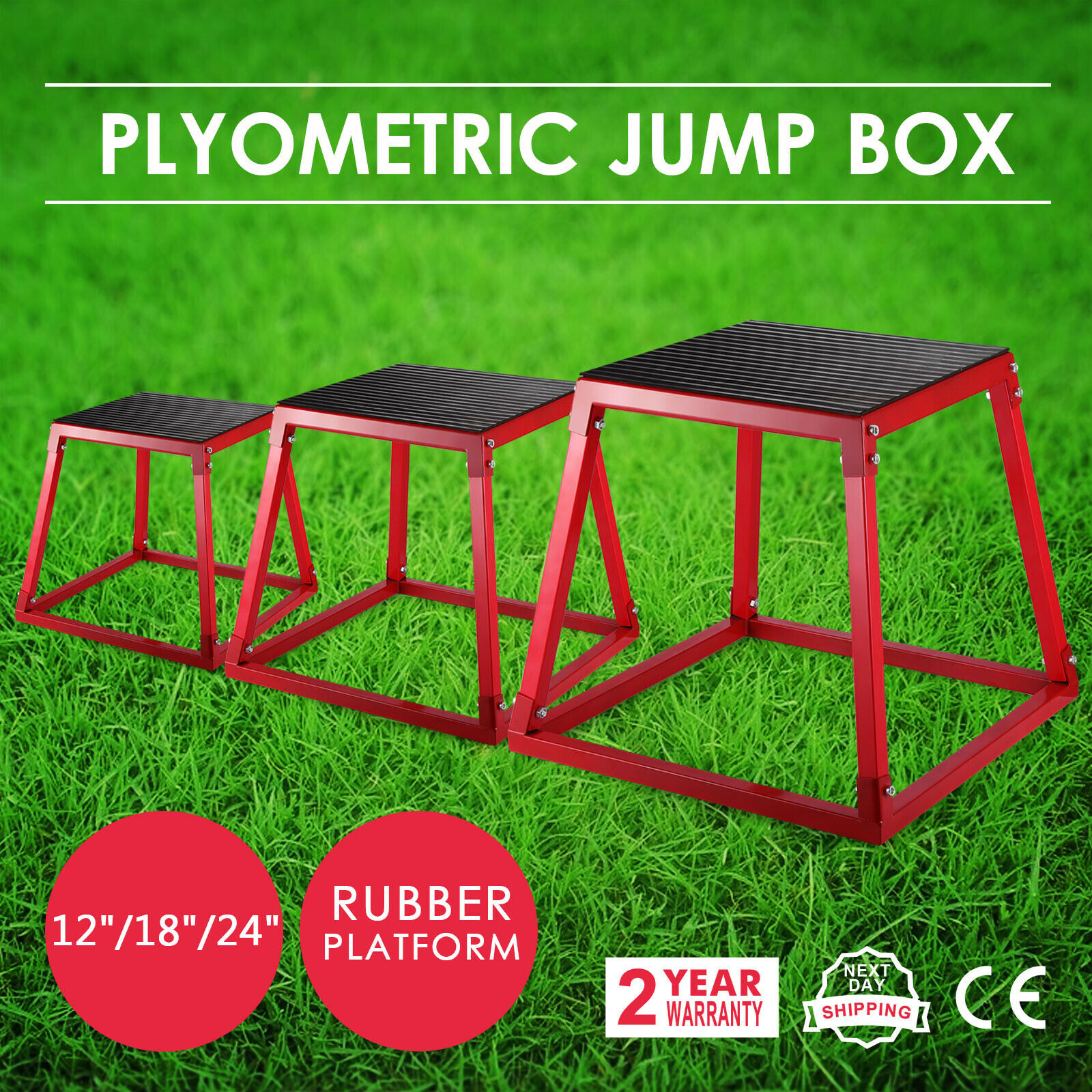 3ps Plyo Jump Boxes Set 12