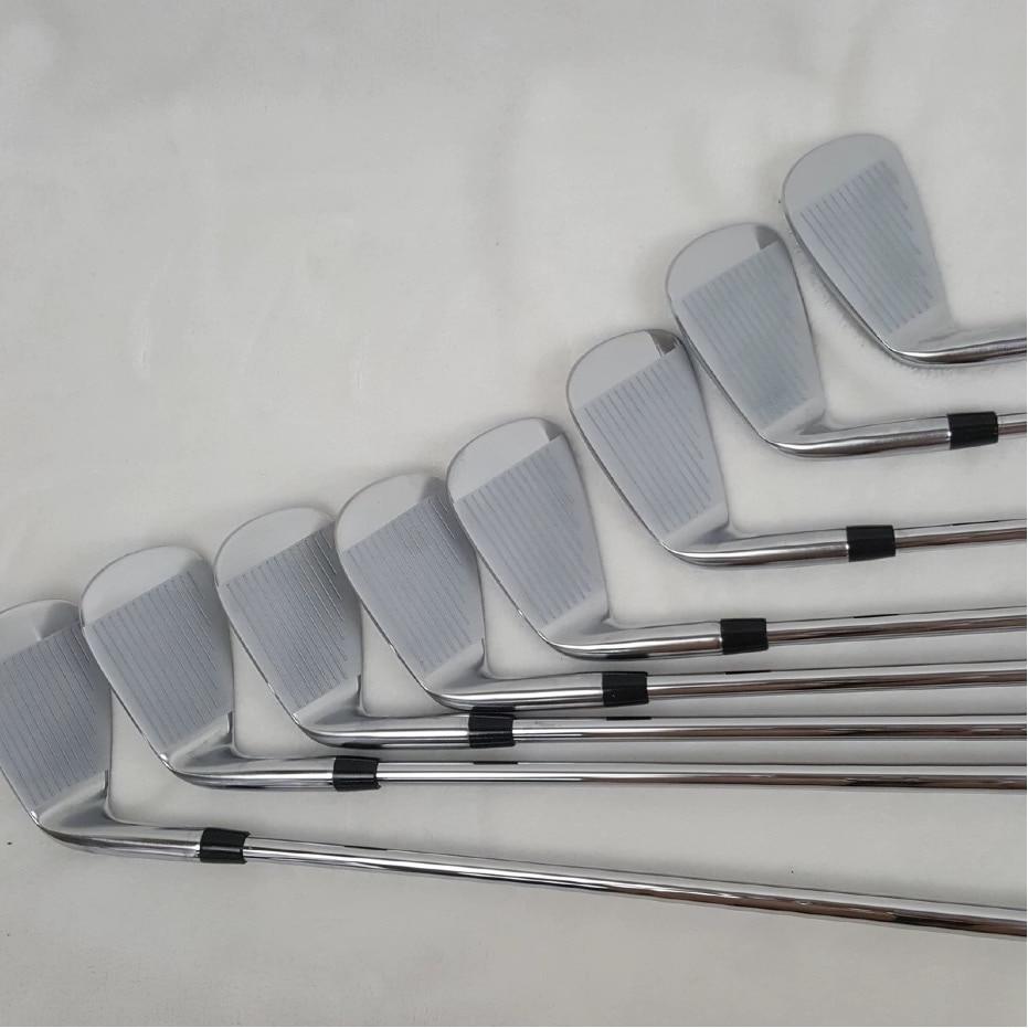 JPX919 Ferri Da Golf JPX 919 golf clubs Set da Stiro 4-9PG Nero Acciaio Inox pozzo della grafite Driver Cuneo di Salvataggio Putter