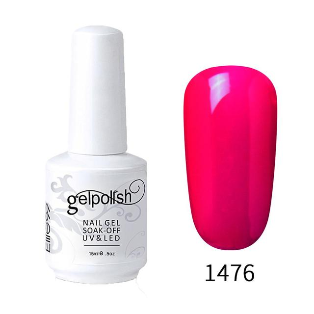 Elite99 15ml Gel Nagellack Reine Farbe Gel Lack Farbe Semi Permanent Nägel Kunst Gel Nagellack Für Maniküre UV Nagel Gellak