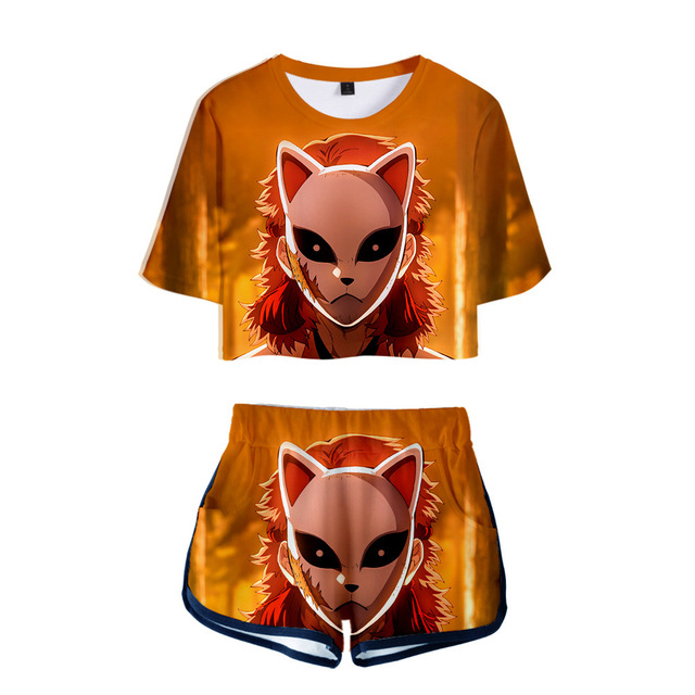 Demon Slayer   Kimetsu no Yaiba Cosplay T-shirts