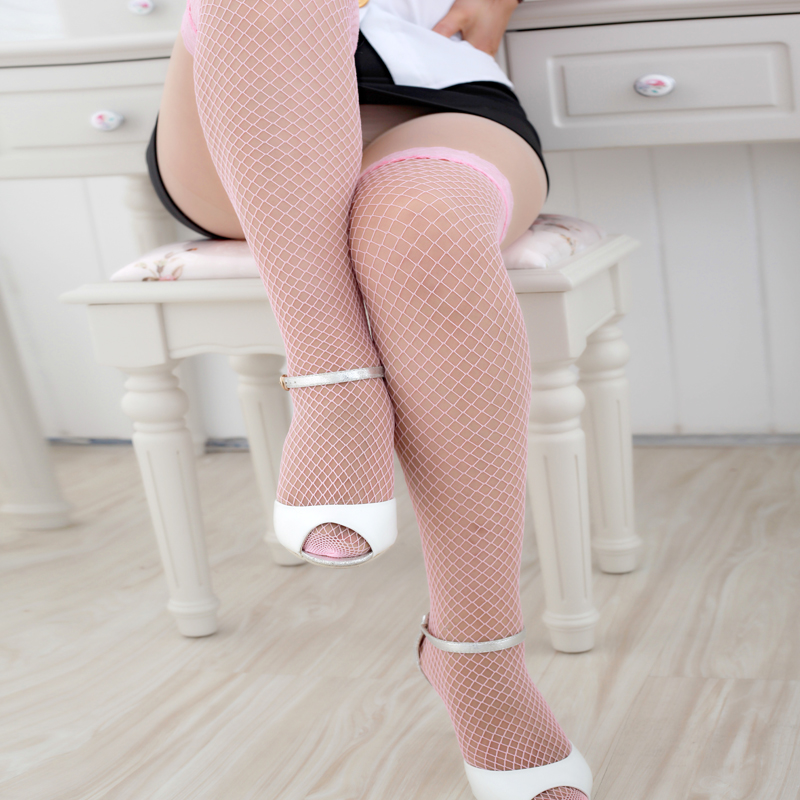 Fashion Sexy Lingerie Woman Ladies Lace Fishnet Thigh High Stockings PK нижнее белье для секса Christmas Stockings To The Thigh